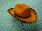 KIC_1161704 - Brown Cowboy Felt Hat